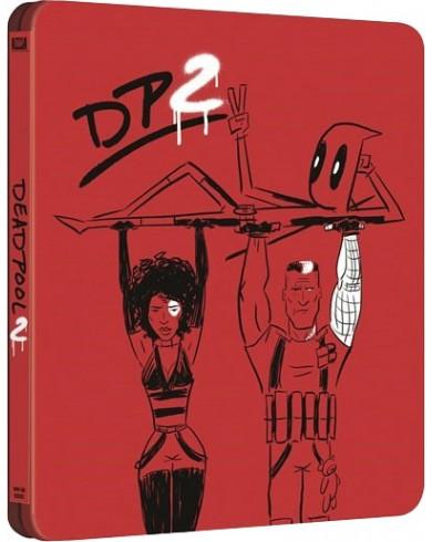 Дэдпул 2 Steelbook  (2 Blu-ray)