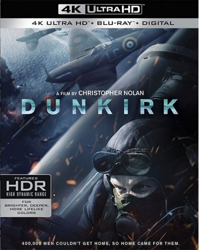 Дюнкерк (4K UHD Blu-ray)