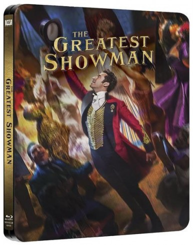 Величайший шоумен Steelbook (Blu-ray)