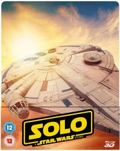 Хан Соло: Звёздные Войны. Истории Steelbook (3D Blu-ray + 2 Blu-ray)