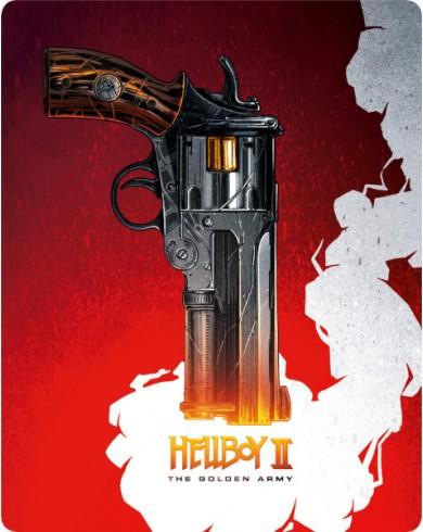 Хеллбой 2: Золотая Армия Steelbook (Blu-ray)