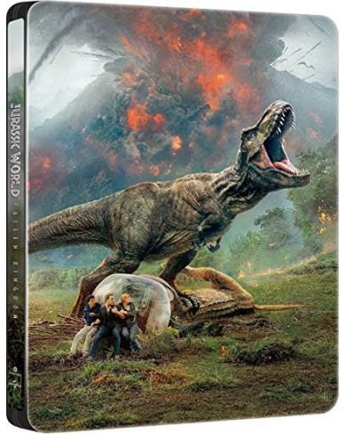 Мир Юрского периода 2 Steelbook T-REX (3D Blu-ray + Blu-ray)