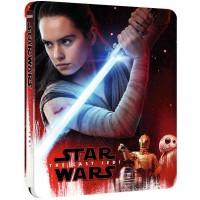 Звёздные войны: Последние джедаи Steelbook (3D blu-ray + blu-ray)