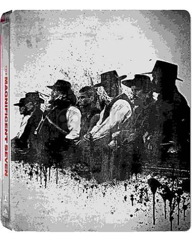 Великолепная семерка (2016) Steelbook (2 Blu-ray)