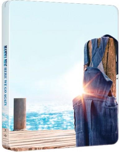 Mamma Mia! 2 (4K ULTRA HD Blu-ray) Steelbook