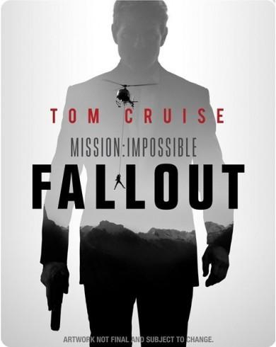 Миссия невыполнима: Последствия Steelbook (Blu-ray)