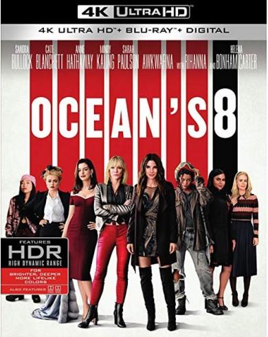 8 подруг Оушена (4K ULTRA HD Blu-ray)