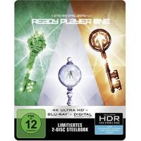 Первому игроку приготовиться Steelbook (4K Ultra HD + Blu-ray)