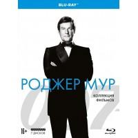 007 Роджер Мур Коллекция фильмов (7 Blu-ray)