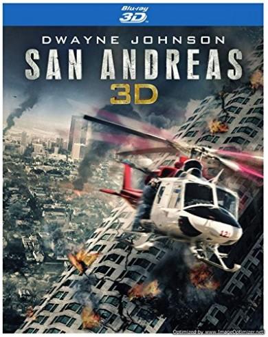 Разлом Сан-Андреас Steelbook (3D Blu-ray + Blu-ray)