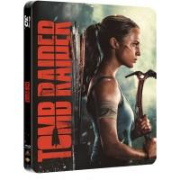 Tomb Raider: Лара Крофт Steelbook (4K Ultra HD Blu-ray + Blu-ray)