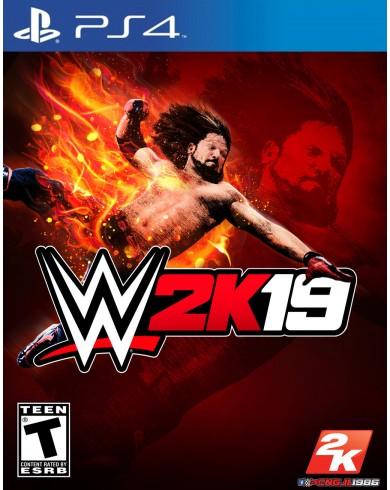 WWE 2K19 (PS4, английская версия)
